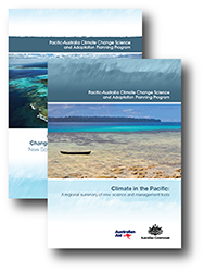 Covers of the 2014 PACCSAP technical and summary reports