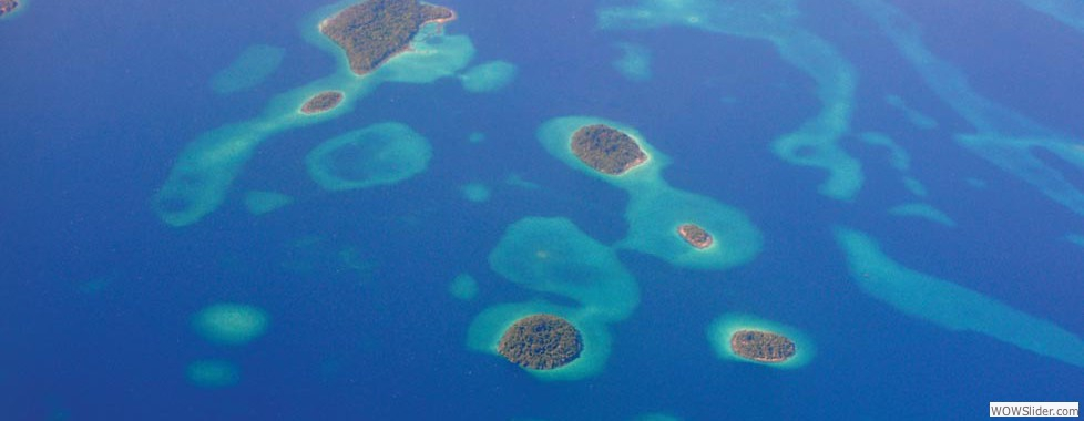 The low lying pacific islands will be affected by rising sea levels